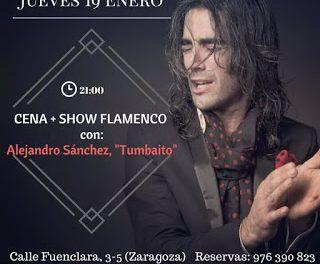 Cena y flamenco (jueves, 19)