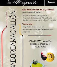 MAGALLÓN. Cata de vinos y aceites (sábado, 7)