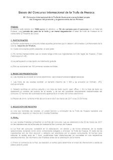 Nuevo menú degustación en LA OLIVADA, Trufa negra y sabores de Aragón (hasta el 25 de febrero)