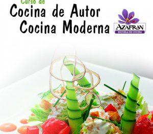 Curso de cocina de autor-moderna en AZAFRÁN (de martes a jueves, del 7 al 9)