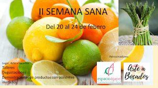 Jornadas sobre fruta y verdura de temporada (del 20 al 24)