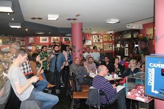 Cata DOP Somontano en el BAR EL FÚTBOL (sábado, 11)