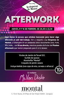 'Afterwork' (jueves, 9 y 16)
