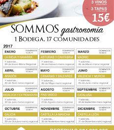 BARBASTRO. SOMMOS gastronomía (domingos de marzo)