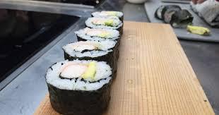Curso de sushi en LA ZAROLA (lunes, 13)