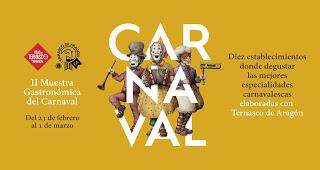 RuTA Gastronómica del Carnaval (jueves, 23)