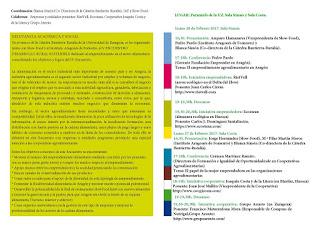V Encuentro sobre Desarrollo Rural Sostenible (lunes 20 y 27)