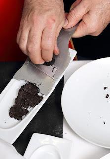 Nuevo menú degustación en LA OLIVADA, Trufa negra y setas (del 28 de febrero al 1 de abril)