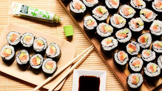 Taller de sushi y pollo karaage (sábado, 4)