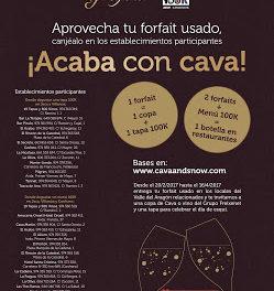 JACA / CANFRANC / VILLANÚA. Acaba con cava (Hasta el 17 de abril)