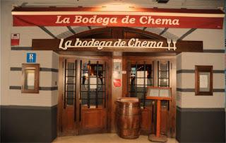 Cena maridada en  LA BODEGA DE CHEMA, por 35 euros (viernes, 31)
