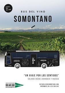 Excursión bus del vino Somontano (domingo, 26)