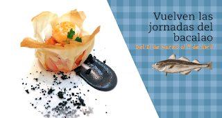 Jornadas del bacalao en EL CHALET (hasta el 9 de abril)
