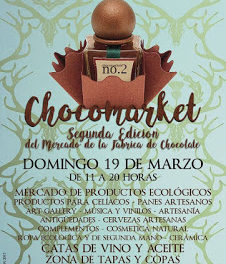 II Chocomarket, Mercado de la Fábrica de Chocolate (domingo, 19)