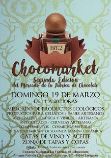 II Chocomarket, Mercado de la Fábrica de Chocolate (domingo, 19)