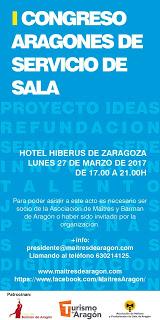 I Congreso aragonés de servicio de sala (lunes, 27)