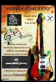 Vermut concierto (sábado, 18)