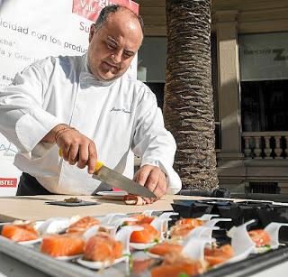 Charla del cocinero Javier Turmo (miércoles, 29)