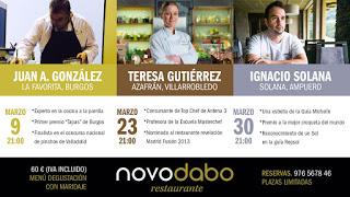 Cocina a cuatro manos en Novodabo (jueves, 9)