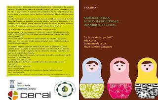 Curso sobre Desarrollo Rural Sostenible (martes, 14)