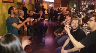 Presentación de la cerveza aragonesa KC (viernes, 31)