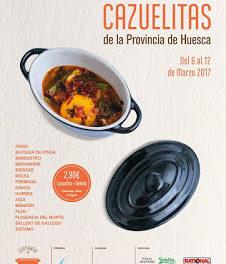 HUESCA PROVINCIA. Certamen de cazuelitas (del 6 al 12)