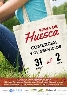 HUESCA. Feria de Huesca (del 31 de marzo al 2 de abril)