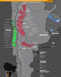Cata de vinos de Sudamérica (jueves, 9)