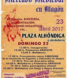 ALAGÓN. Mercado medieval de Alagón (domingo, 23)