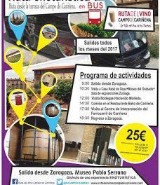 Excursión Ruta del Vino Campo de Cariñena (sábado, 6)