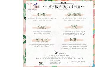 Menú EXPERIENCIA GASTRONÓMICA en el MOLINO DE SAN LÁZARO por 35 euros (hasta finales de junio)