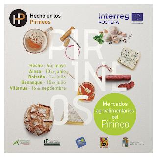 HECHO. Mercado Hecho en los Pirineos (sábado, 6)