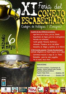 CASTEJÓN DE VALDEJASA. XI Feria del conejo escabechado (sábado, 6)