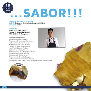 HUESCA. Talleres Huesca la Magia de la Gastronomía 2017 (martes, 18)
