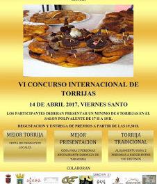 TRASMOZ. VI Concurso Internacional de Torrijas (viernes, 14)