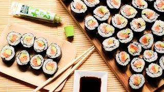Taller de sushi y pollo karaage (sábado, 8)