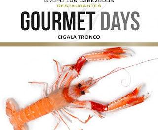 Gourmets Days en LOS CABEZUDOS y TRAGANTÚA con cigala (del 18 al 21)