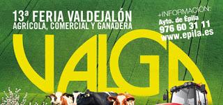 """ÉPILA. XIII Feria de Valdejalón """"Valga"""" (del 29 al 1)"""