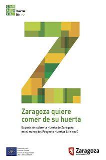 Exposición Zaragoza quiere comer de su huerta (hasta el 14 de junio)