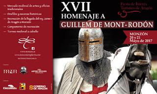 MONZÓN. XVII Homenaje a Guillem de Mont-Rodón (20 y 21)
