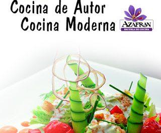 Curso de cocina moderna y de autor en AZAFRÁN (de martes a jueves, del 30 al 1)