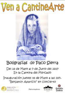 """BARBASTRO. Exposición """"Boligrafías de Paco Sierra"""" (hasta el 7 de junio)"""