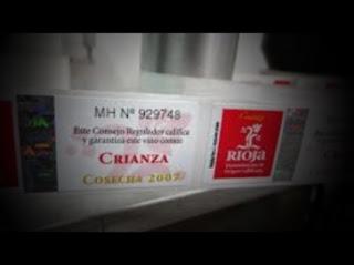 Degustación de crianzas de Rioja en Vino Botica (viernes, 12)