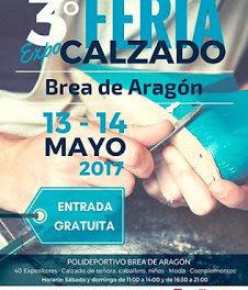 BREA DE ARAGÓN. Feria del calzado (días 13 y 14)