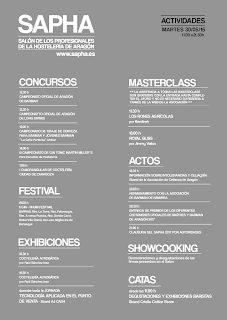 II Salón de Profesionales de Hostelería de Aragón (29 y 30)