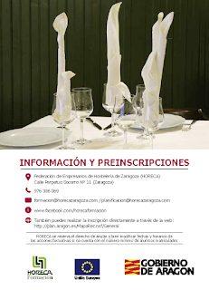 """Curso """"Ofertas gastronómicas sencillas y sistemas de aprovisionamiento"""" (junio)"""