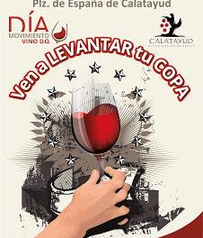 CALATAYUD. Brindis popular por el Día Movimiento del Vino D.O. (sábado, 20)