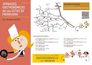 SIERRA DE ALBARRACÍN. Jornadas Gastronómicas de las setas (3 y 4)