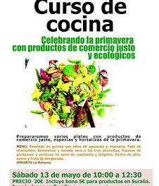 Curso de cocina (sábado, 13)