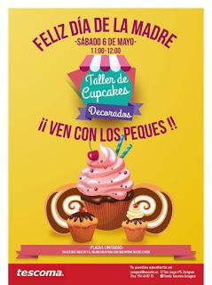 Taller de cupcakes (sábado, 6)